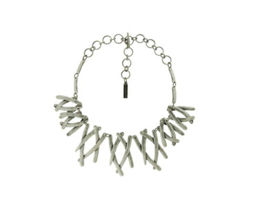 Collier im Altsilberlook - 1258-CO - nickelfrei