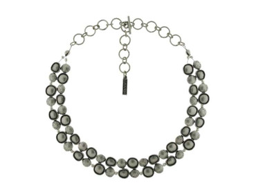 *Collier im Altsilberlook - 1259-CO - nickelfrei