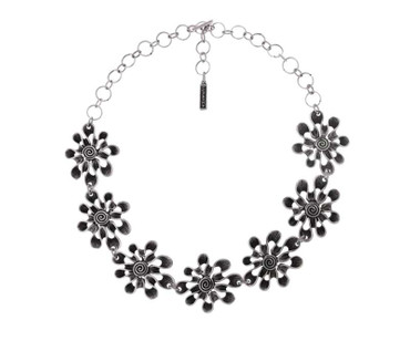 Collier im Altsilberlook - 1261-CO - nickelfrei