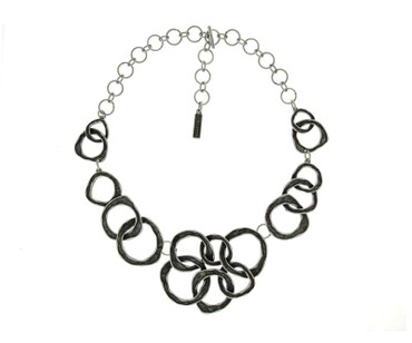Collier im Altsilberlook – 1365-CO - nickelfrei