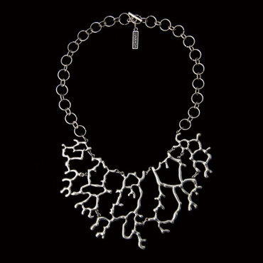 Collier im Altsilberlook - 1388-CO - nickelfrei