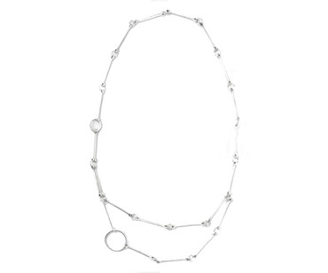 Collier im Altsilberlook - 1116-CO - nickelfrei