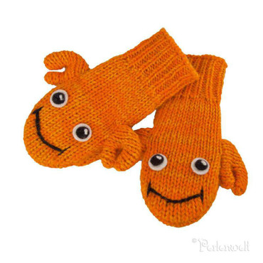 Kids Handschuhe Crab Crab Kids Handschuhe orange