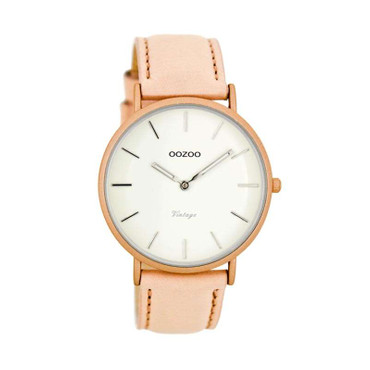 Uhr Vintage powderpink white
