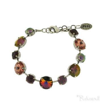 Glitzer-Armband GS Burgundy Blush Rose Mix