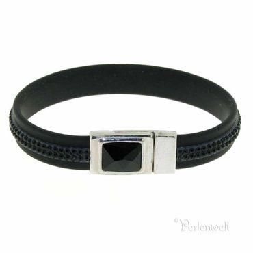 Armband Tex Magnet  Schwarz/Jet