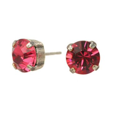 Ohrschmuck 8mm Indian Pink