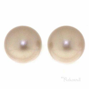 Ohrschmuck Perle 6mm Powder Almond