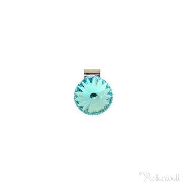 Mesh-System Mesh Anhänger Rivoli 14mm Light Turquoise