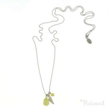 Amulett Sloop Amulett Tropfen Crystal Yellow