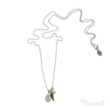 Amulett Sloop Amulett Tropfen Crystal Green