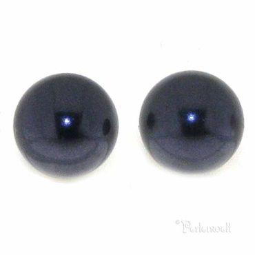 Ohrschmuck Perle 6mm Dark Purple