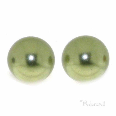 Ohrschmuck Perle 6mm Light Green
