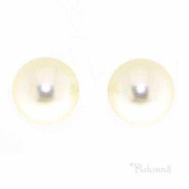 Ohrschmuck Perle 6mm Creme
