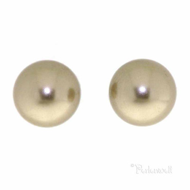 Ohrschmuck Perle 6mm Bronze