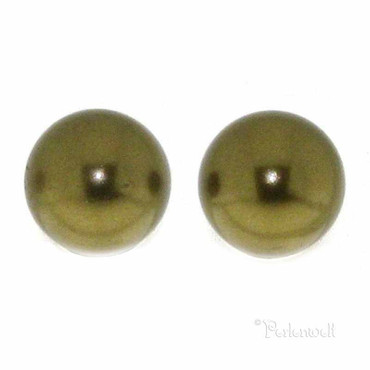 Ohrschmuck Perle 6mm Antique Brass