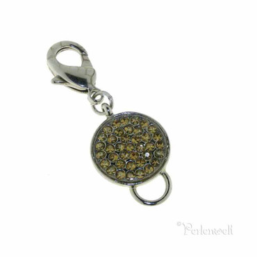 Charm Multistone Carrier Golden Shad
