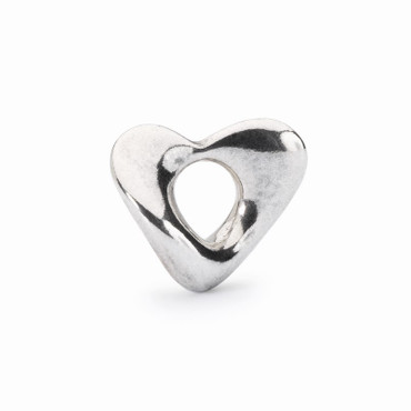 Silberperle: Weiches Herz, klein