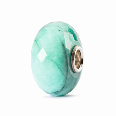 Edelsteinperle: Smaragd