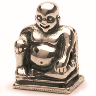 Silberperle: Buddha