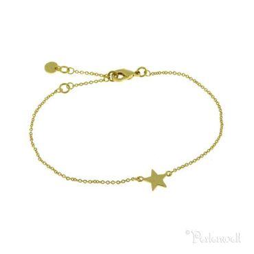 Armband Stern gold