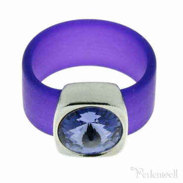 Belt Ring 12 mm Tanzanite