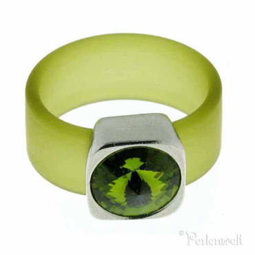 Belt Ring 12 mm Olivine