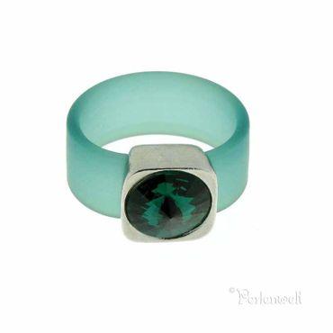 Belt Ring 12 mmt Emerald