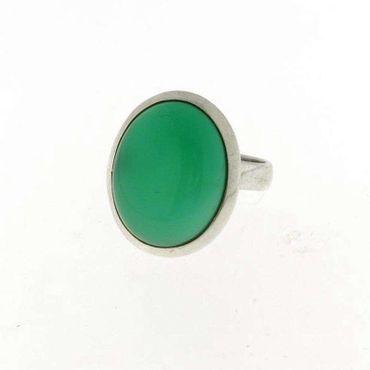 Ring Aventurin oval, 925 Silber