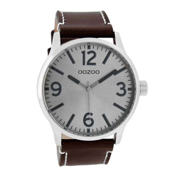 Uhr darkbrown grey