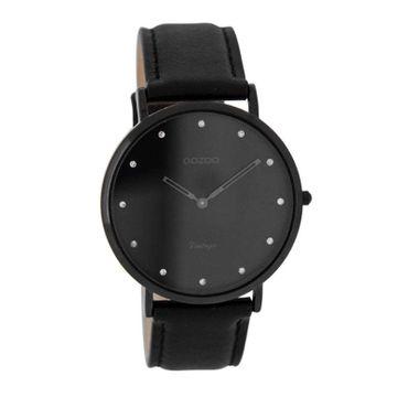 Uhr Vintage black white rosegold