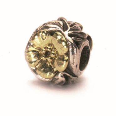 Gold-Silberperle: Blumen