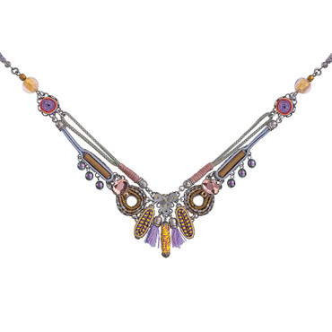 Collier Purple-Rain