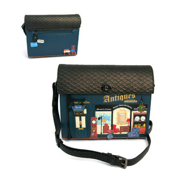 Taschen Antiques Box Bag