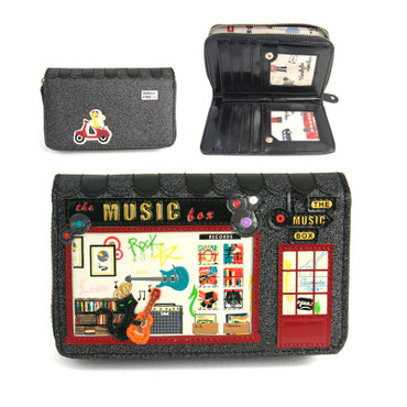 Geldbörse The Music Box Medium Ziparound Wallet