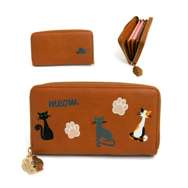 Geldbörse A Cat's World Ziparound Wallet