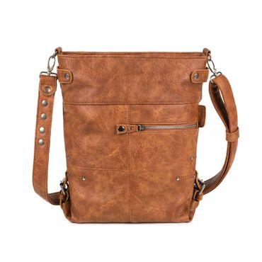 Handtasche Vintage V12 camel