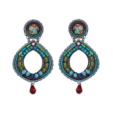 Ohrschmuck  Turquoise Crown Classic 15