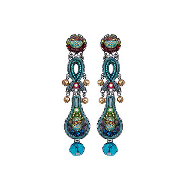 Ohrschmuck  Turquoise Crown Classic 16