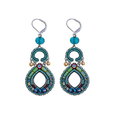 Ohrschmuck  Turquoise Crown Classic 17