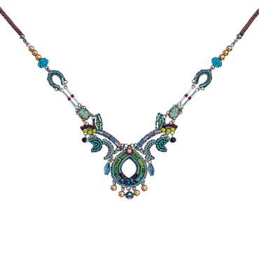 Collier  Turquoise Crown Classic 10