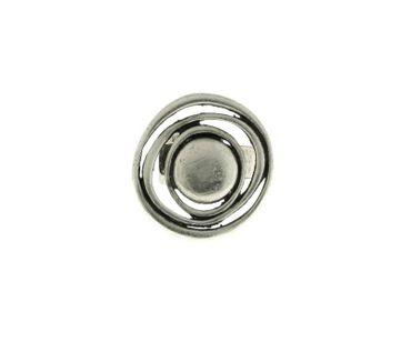 Ring größenverstellbar, breite Schiene - 1125-RI-B - nickelfrei
