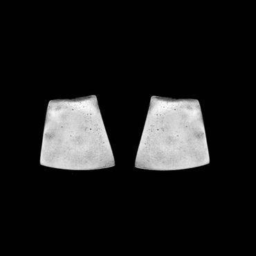 Ohrclip im Altsilberlook - 1035-OC-2 - nickelfrei