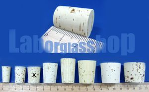 22 mm x 18 mm / 15 mm Kork 1000 Stück SCHWEFELFADEN® Korken – Bild 2