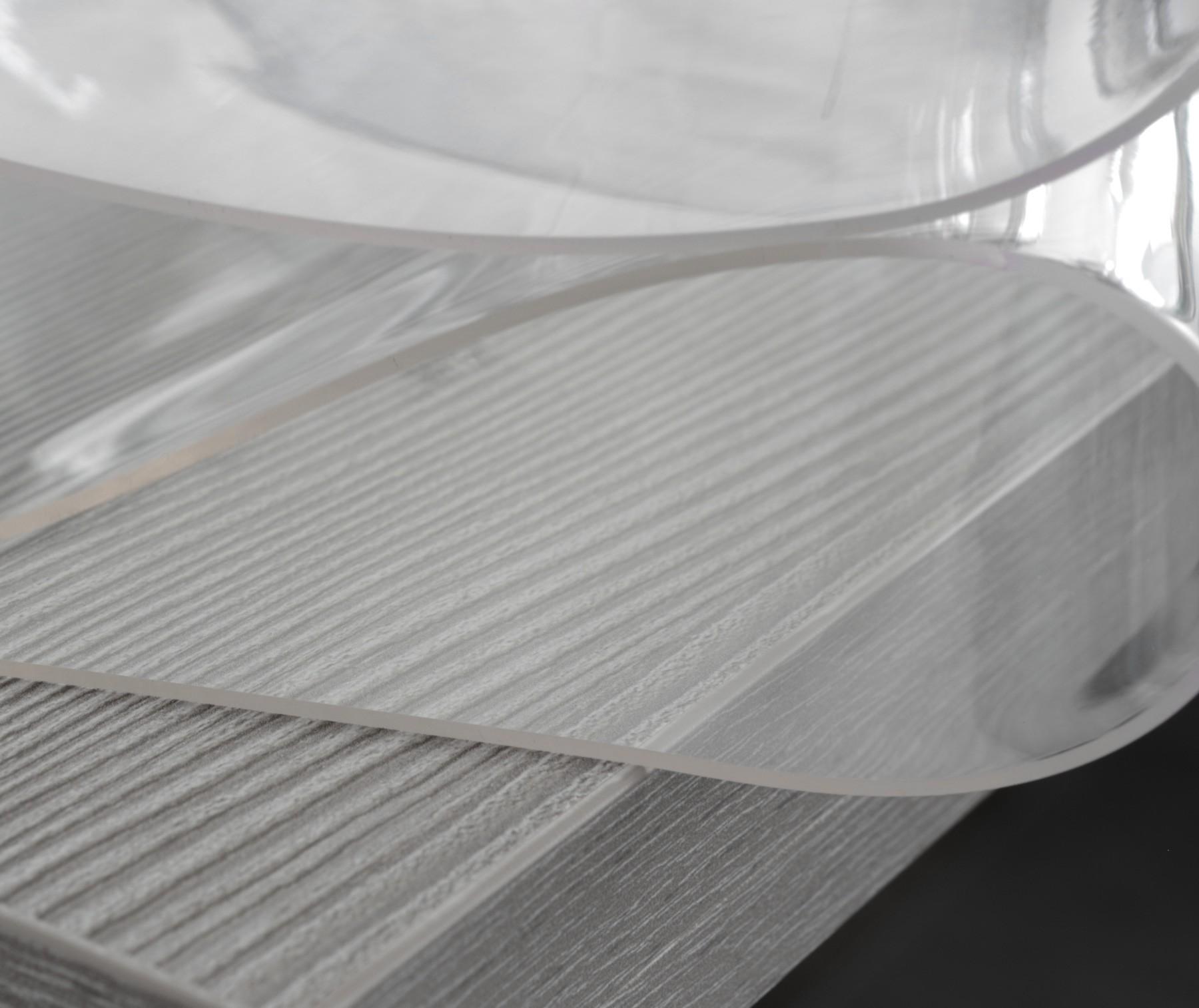 glasklar folie 2 mm transparente tischdecke 80 cm l nge w hlbar schutzfolie tischschutz. Black Bedroom Furniture Sets. Home Design Ideas