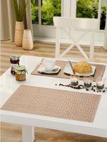 Tischset Platzset Polyline abwischbar, Farbe wählbar, Tischschutz mit geprägter Oberfläche – Bild 3