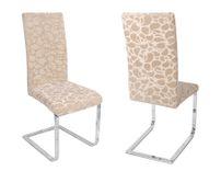 Maya Clean Samt Mirofaser Stuhlhusse, elastische Stretch Husse Bi-Elastic, Farbe wählbar – Bild 11