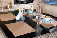 Tischset Platzset, rutschfest mit Teflon Fleckschutz, integrierter Tischschutz, Farbe wählbar – Bild 4