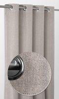 Rita blackout Ösenvorhang, Gardine mit Ösen 140x245 cm, Ösenschal Farbe wählbar – Bild 5