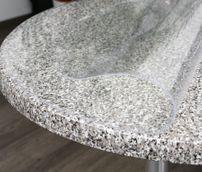 Glasklar Folie 2 mm transparente Tischdecke RUND, Größe wählbar, Schutzfolie Tischschutz – Bild 3